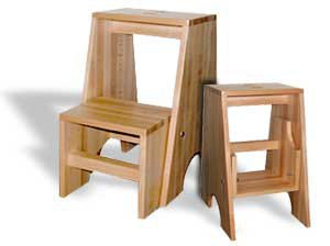 bauanleitung f r einen hocker mit trittleiter. Black Bedroom Furniture Sets. Home Design Ideas